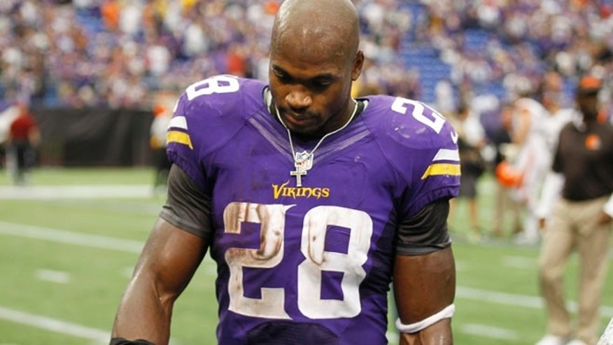 Sources told TMZ that Minnesota Vikings running back Adrian Peterson's 2-year-old son was in critical condition after a beating.