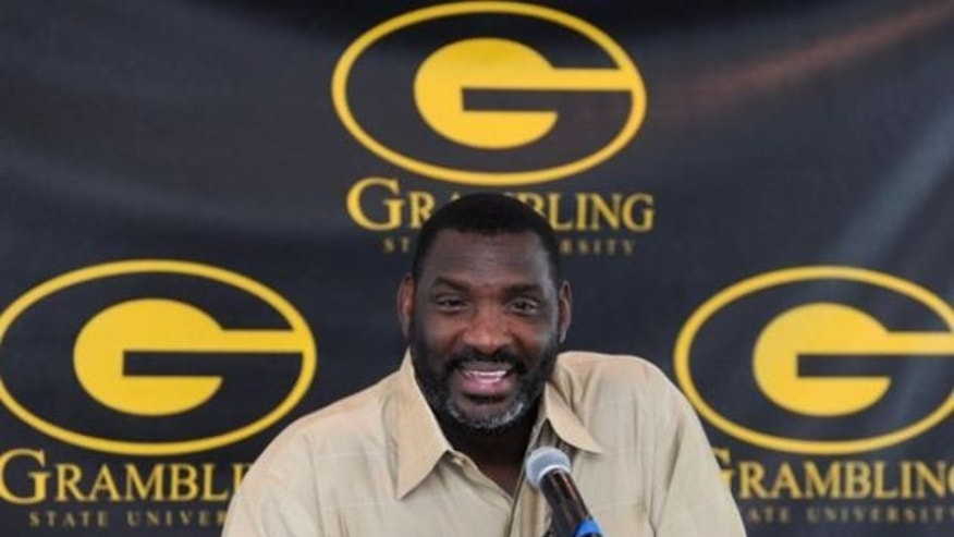 Doug Williams, former Grambling football coach, who was fired earlier this season. (AP Photo)