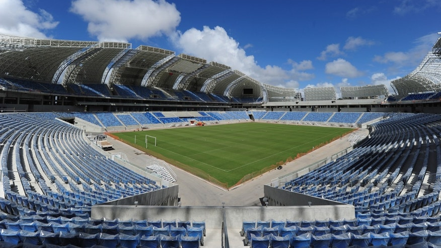 The Arena Das Dunas venue on December 8, 2013 in Natal, Brazil.