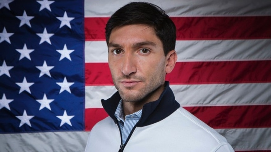 Sept. 30, 2013: Olympic figure skater Evan Lysacek poses for a portrait during the 2013 U.S. Olympic Team Media Summit in Park City, Utah.