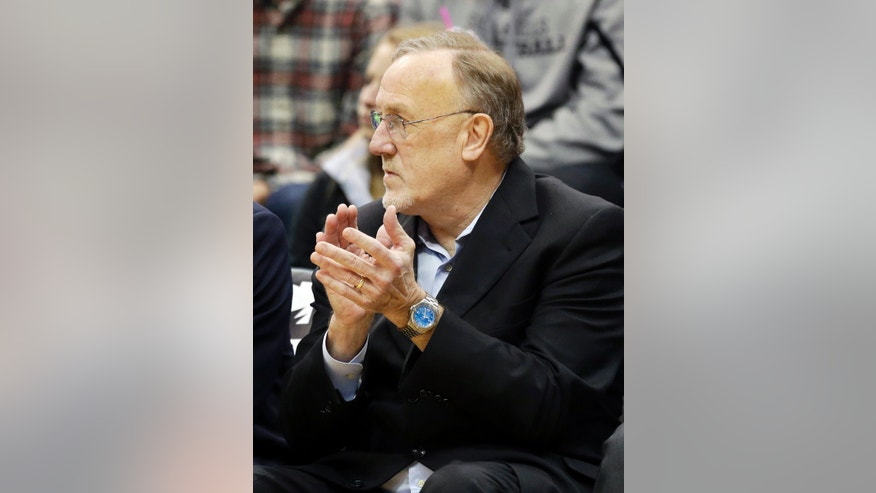 Minnesota Timberwolves coach Rick Adelman applauds his team during the second half of an NBA basketball game Friday, Jan. 10, 2014, in Minneapolis where the Timberwolves defeated the Charlotte Bobcats 119-92. (AP Photo/Jim Mone)