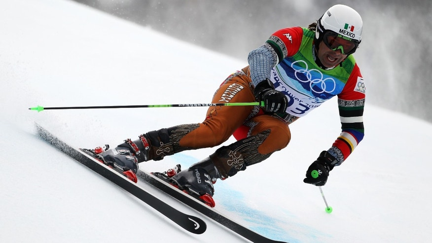 Hubertus Von Hohenlohe during the Alpine Skiing Men's Giant Slalom in February 2010 in Whistler, Canada.