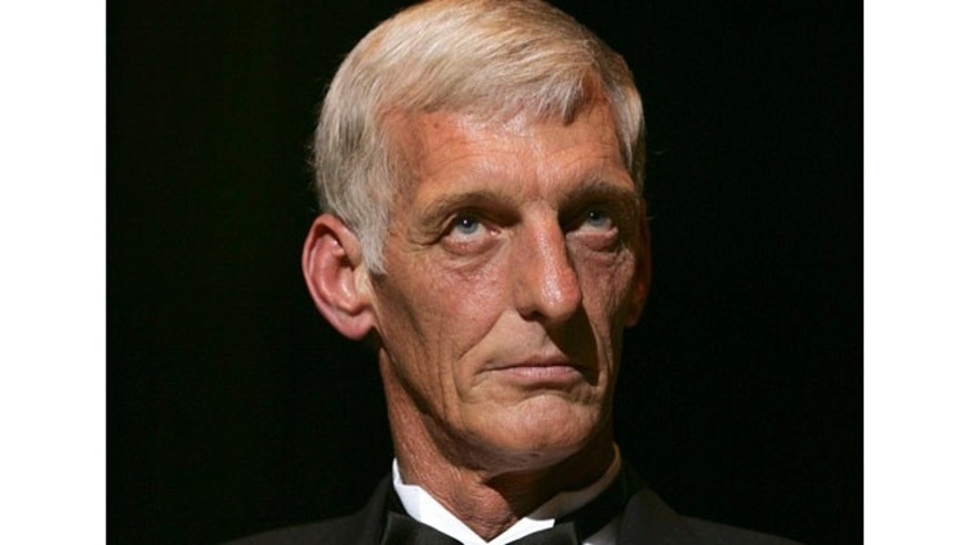 Dec. 7, 2004: This photo shows Ray Guy, from Southern Mississippi University, attending the National Football Foundation's College Hall of Fame class of 2004 induction dinner in New York.