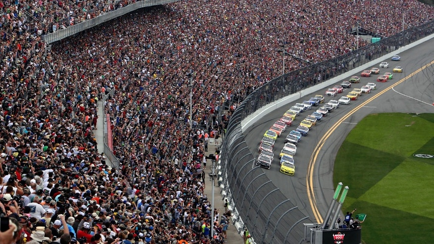 Daytona International Speedway's $400-million expansion is slated for completion in January 2016.