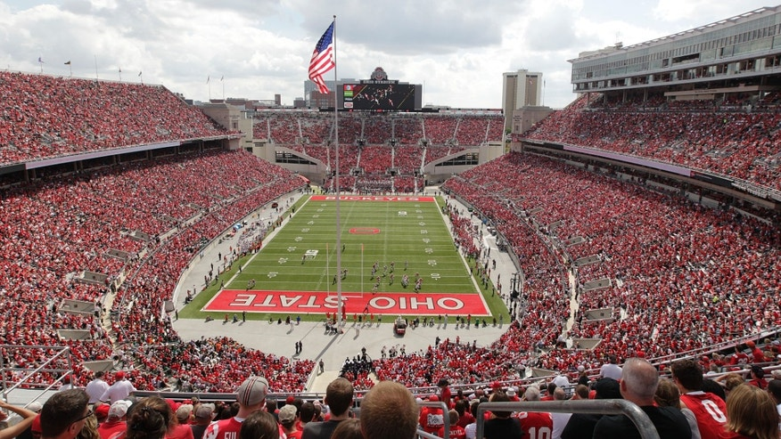 Sept. 21, 2013: In this file photo, Ohio State plays against Florida A&M at Ohio Stadium during an NCAA college football game in Columbus, Ohio.