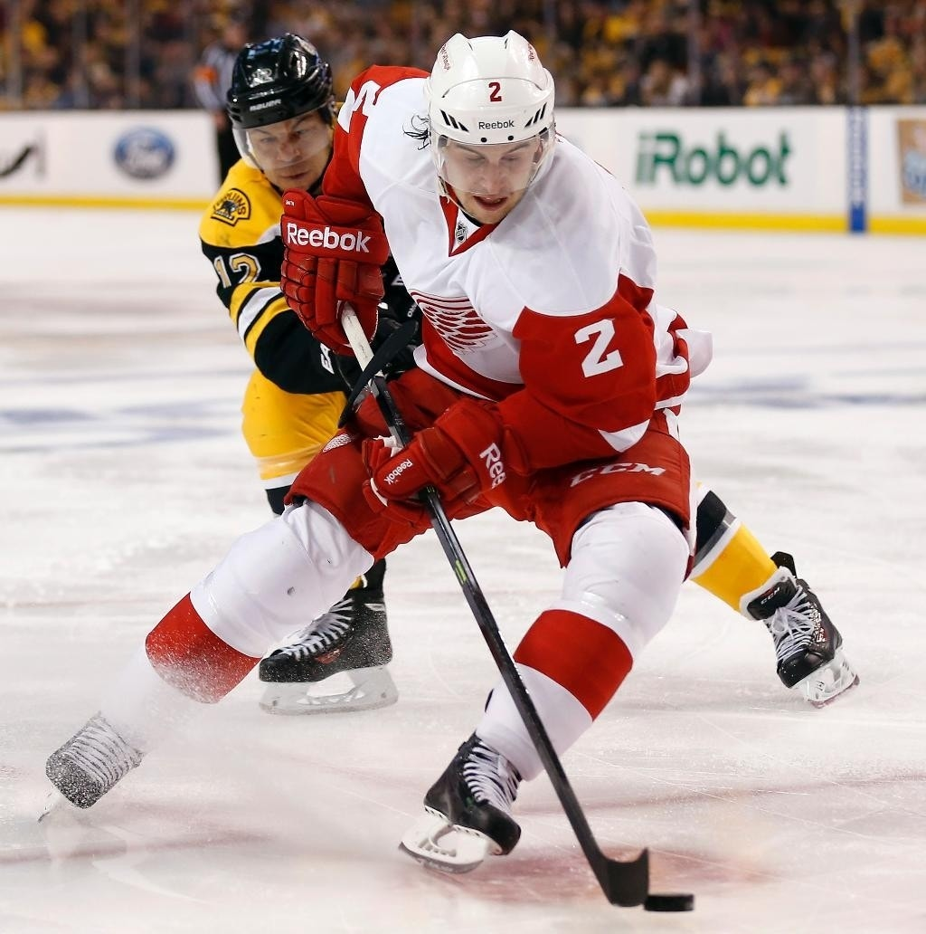 Red Wings Beat Bruins 1-0 In Playoff Opener As Pavel