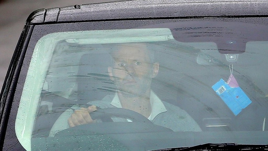 "Manchester United's Ryan Giggs arrives at the clubs' Training Complex, Carrington, Manchester, England Tuesday April 22, 2014. Manchester United says manager David Moyes has left the Premier League club after less than a year in charge, amid heavy speculation he was about to be fired. United released a brief statement in its website Tuesday, saying the club ""would like to place on record its thanks for the hard work, honesty and integrity he brought to the role."" Giggs has been tipped to takeover on an interim basis. (AP Photo/PA, Dave Thompson) UNITED KINGDOM OUT - NO SALES - NO ARCHIVES"