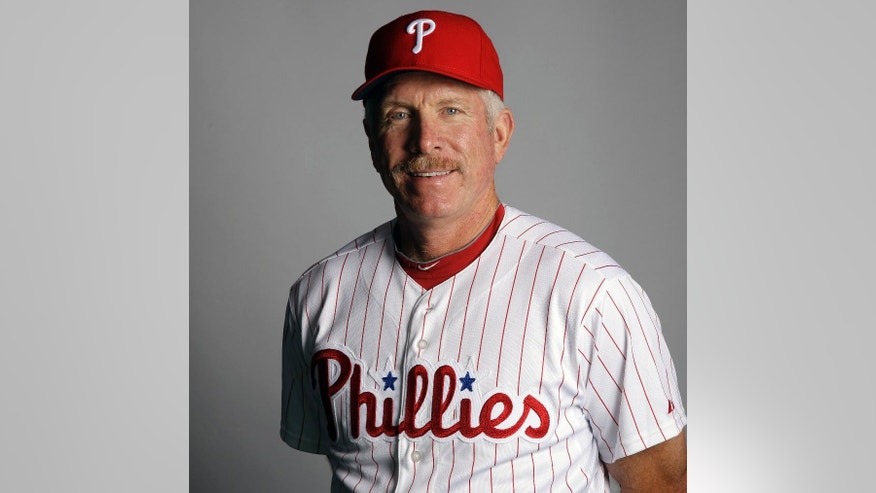FILE - This March 1, 2012, file photo shows Mike Schmidt of the Philadelphia Phillies baseball team. There's been talk lately about the rising rate of strikeouts making baseball boring for fans. I saw where one in every five batters is striking out, a ratio that has spiked over the last three decades. For me, as a passionate former player, it's a serious concern because it gets to the heart and soul of the game.  (AP Photo/Matt Slocum, File)