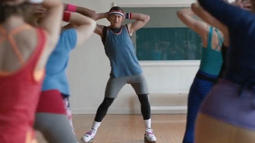 Browns rookie quarterback Johnny Manziel features as an aerobics instructor in a new TV commercial for Snickers.