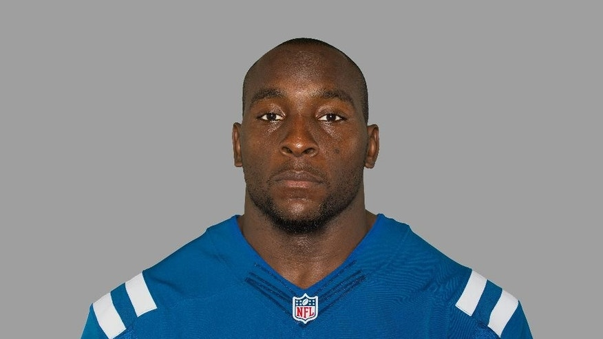 FILE - This is a July 3, 2014, file photo showing Robert Mathis of the Indianapolis Colts NFL football team.  A person with knowledge of the injury tells The Associated Press that Mathis is expected to miss the entire season after tearing an Achilles tendon during a private workout last week in Atlanta. The person spoke Monday, Sept. 8, 2014,  on condition of anonymity because the team had not confirmed Mathis' injury. (AP Photo/File)