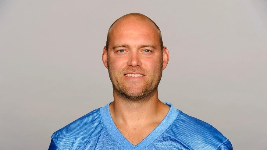 FILE - This May 30, 2013 file photo shows then Tennessee Titans kicker Rob Bironas. Bironas died Saturday night, Sept. 20, 2014 after a car accident near his Nashville home, according to police. (AP Photo/File)