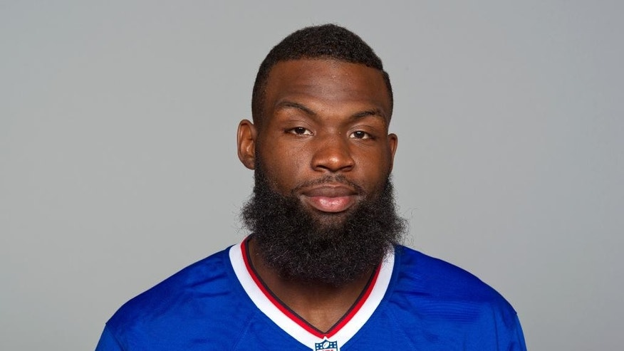 FILE - This is a June 17, 2014, file photo showing Mike Williams of the Buffalo Bills NFL football team. Bills General Manager Doug Whaley says he has granted the agent for wide receiver Mike Williams permission to seek a trade. Whaley said Monday, Oct. 13, 2014, that Williams' agent, Hadley Englehard, asked to gauge interest from other teams in a possible trade. (AP Photo/File)