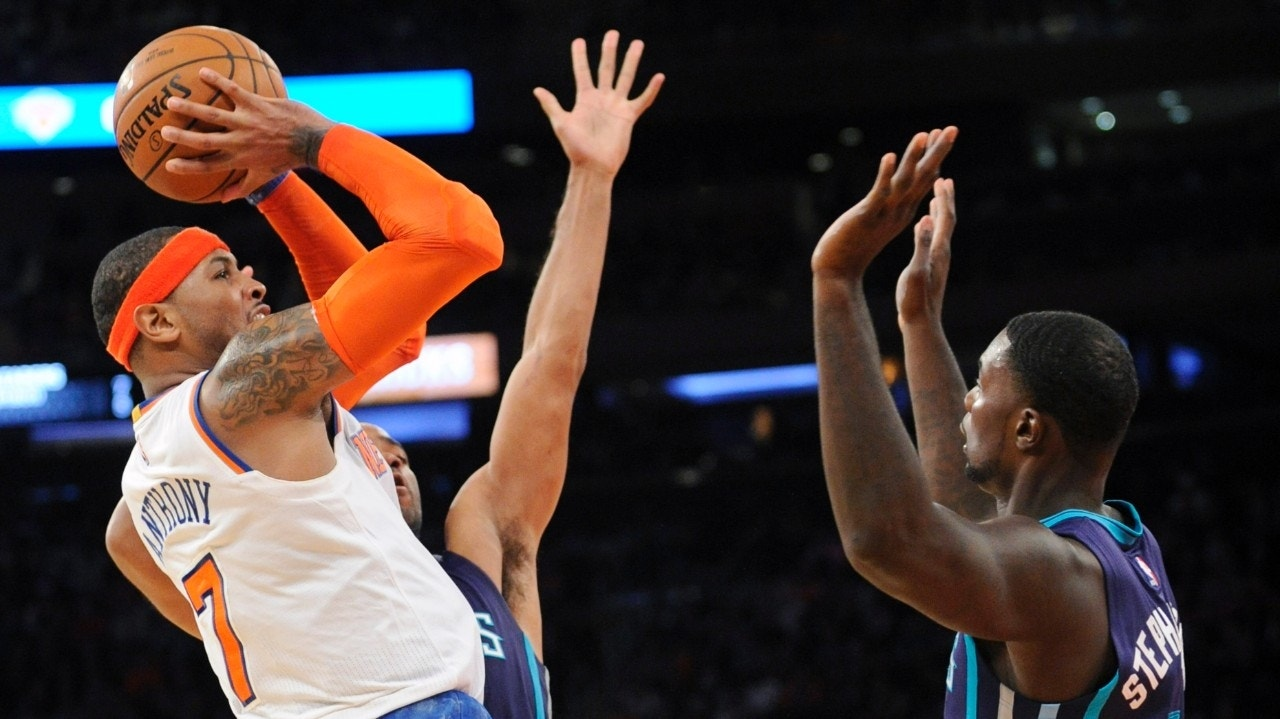 Knicks' Carmelo Anthony reaches 20,000 career points in win over Hornets | Fox News