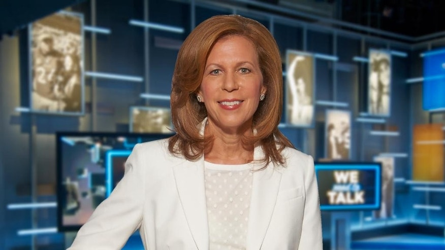"In this photo provided by CBS Sports, Amy Trask poses for a photo Sept. 30, 2014, prior to taping the show, ""We Need to Talk,"" at the CBS Broadcast Center in New York. The late Oakland Raiders owner Al Davis still comes to Trask's mind almost daily. Trask will see something or read something and wish she could share it with Davis. Along with her husband of nearly 29 years, Davis had one of the most profound influences on her life and career. Now 18 months removed from her almost three-decade stint with the franchise, Trask remains a loyal fan of the Raiders team she fell in love with as a college student at California-Berkeley. (AP Photo/CBS Sports Network)"