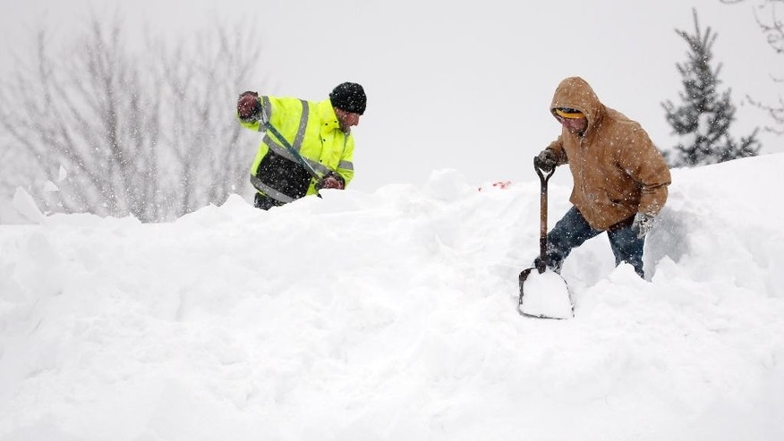 Buffalo Bills Race Clock To Clear Stadium Of Snow By
