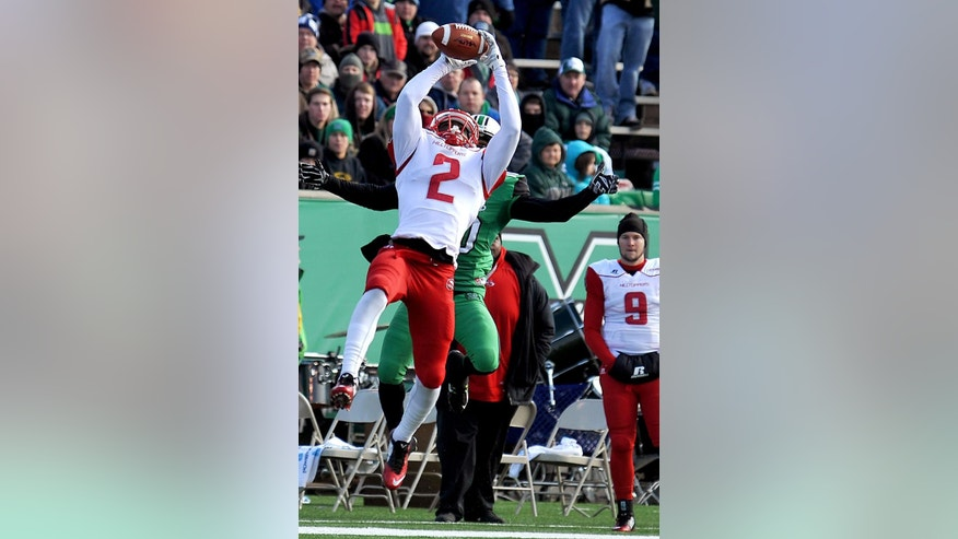 Western Kentucky's Taywan Taylor (2) catches a pass during an NCAA football game against Marshall University in Huntington, W.Va., Friday, Nov. 28, 2014. (AP Photo/Chris Tilley)