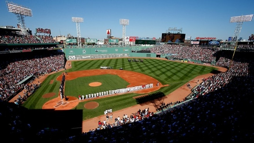 Fenway Park on September 28, 2014 in Boston, Massachusetts.  (Photo by Jim Rogash/Getty Images)
