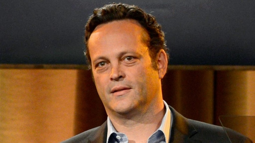 "FILE - This Aug. 13, 2013, file photo shows Vince Vaughn at the Hollywood Foreign Press Association Luncheon in Beverly Hills, Calif. Vaughn, who starred in the movies ""Wedding Crashers,"" ""Old School"" and ""Swingers,"" will serve as grand marshal for the upcoming Daytona 500.  (Photo by Chris Pizzello/Invision/AP, File)"