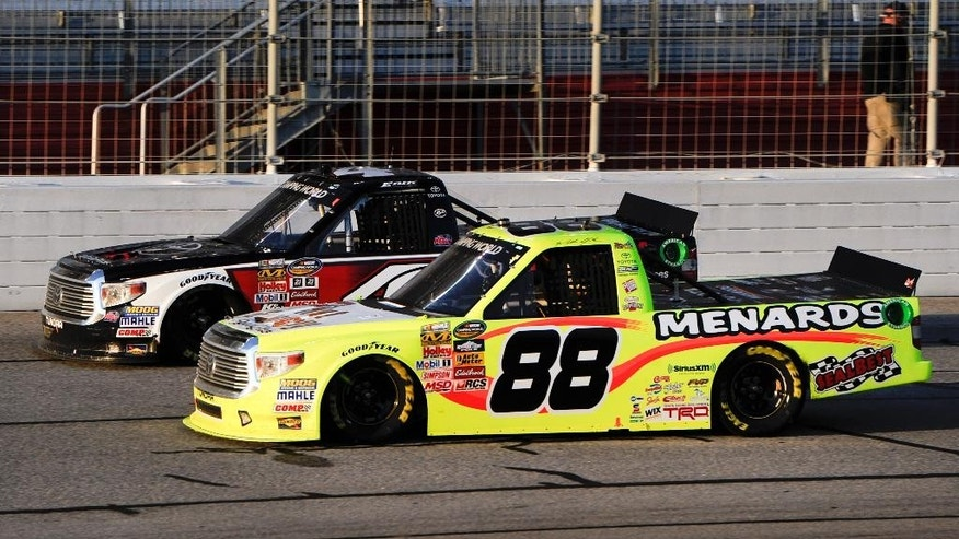 2 time truck champion matt crafton makes a statement with for Jones motor company trucking
