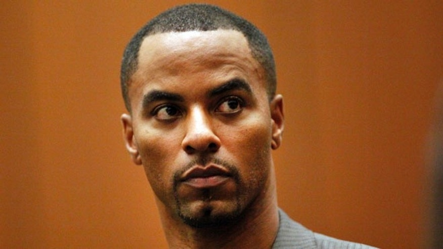 Feb. 20, 2014 - FILE photo of former NFL safety Darren Sharper in Los Angeles Superior Court. Sharper was sentenced to 9 years in federal prison Monday immediately after he pleaded guilty to sexually assaulting a woman in Arizona, marking the first change of plea of the day for the former safety accused of drugging and assaulting women in 4 states.