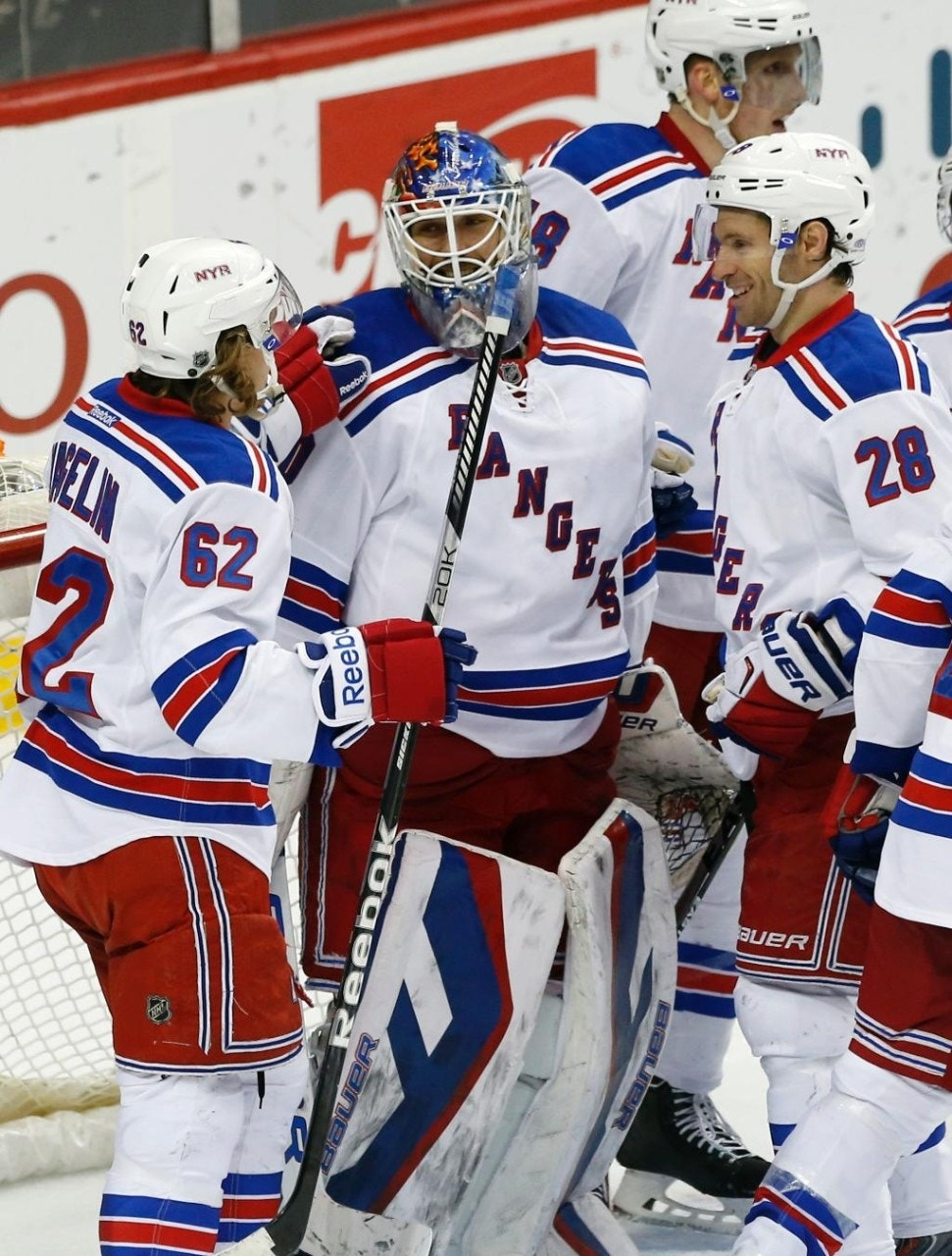 SportsJ.T. Miller's go-ahead goal gives Rangers 3-2 win over Wild, plus division title