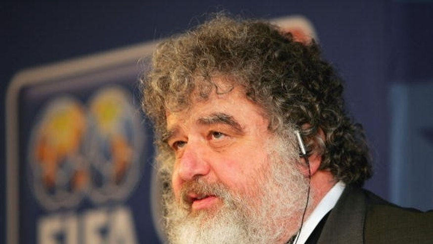 Chuck Blazer, a former member of FIFA's Executive Committee, who became an FBI informant that led to the corruption scandal. (Photo by Stuart Franklin/Getty Images)