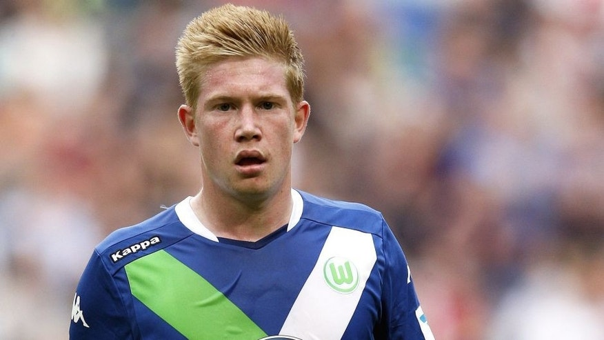 Kevin de Bruyne of VFL Wolfsburg during the pre-season friendly match between Ajax Amsterdam and VfL Wolfsburg on July 17, 2015 at the Amsterdam Arena at Amsterdam, The Netherlands.(Photo by VI Images via Getty Images)