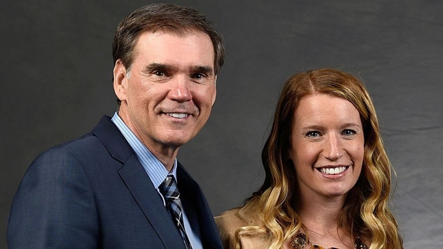 CHARLOTTE, NC - JANUARY 30: (R-L)NASCAR Hall of Famer Bill Elliott and his wife, Cindy Elliott, pose with Erin Crocker Ray Evernham during a portrait session after the NASCAR Hall of Fame Induction Ceremony at the NASCAR Hall of Fame on January 30, 2015 in Charlotte, North Carolina. (Photo by Jared C. Tilton/NASCAR via Getty Images)