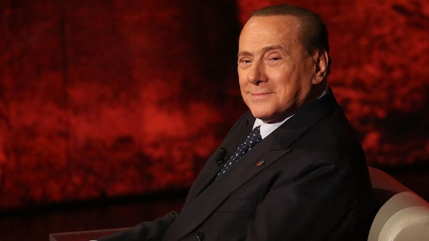 MILAN, ITALY - MAY 24: Silvio Berlusconi attends the 'Che Tempo Che Fa' TV Show on May 24, 2015 in Milan, Italy. (Photo by Vincenzo Lombardo/Getty Images)