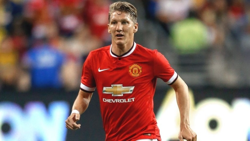 SEATTLE, WA - JULY 17: Bastian Schweinsteiger #23 of Manchester United follows the play against against Club America during the International Champions Cup at CenturyLink Field on July 17, 2015 in Seattle, Washington. (Photo by Otto Greule Jr/Getty Images)