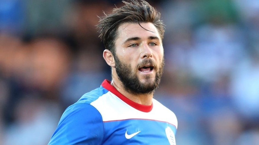 BARNET, ENGLAND - JULY 22: Charlie Austin of Queens Park Rangers looks on during the pre season friendly match between Queens Park Rangers and Dundee United at The Hive on July 22, 2015 in Barnet, England. (Photo by David Rogers/Getty Images)