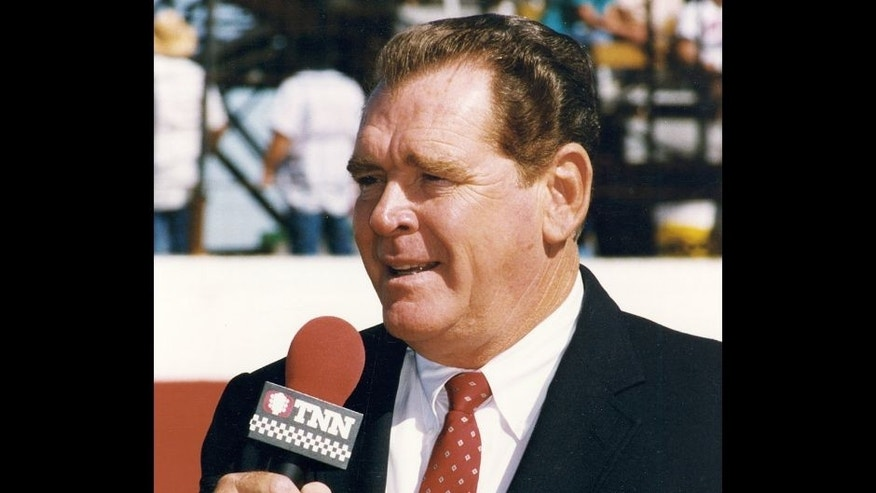 1990s: After retiring from NASCAR racing, Buddy Baker went to work as a television commentator for The Nashville Network and covered races for TNN from1991 through 2000. (Photo by ISC Images & Archives via Getty Images)