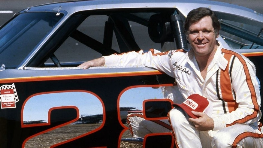 DAYTONA BEACH, FL - 1979: Buddy Baker with the Harry Ranier-owned Oldsmobile before a NASCAR Cup race at Daytona International Speedway. Baker won the pole position for both the Daytona 500 and Firecracker 400, but did not finish either race. The following year would be different, though, as Baker would take the pole once again for the 1980 Daytona 500, then go on to win the race. (Photo by ISC Images & Archives via Getty Images)