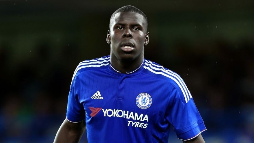 LONDON, ENGLAND - AUGUST 03: Kurt Zouma of Chelsea during the pre-season friendly between Chelsea and Fiorentina at Stamford Bridge on August 5, 2015 in London, England. (Photo by Catherine Ivill - AMA/Getty Images)