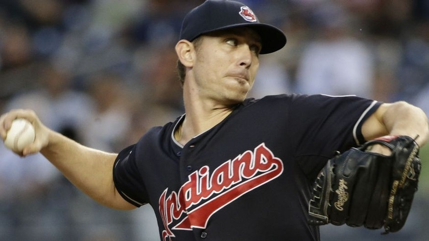 Josh Tomlin pitches 7 innings only allowing one run vs. the Yankees on Thursday