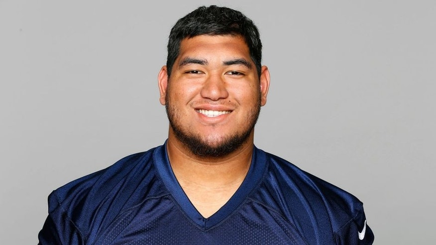 This is a 2015 photo of Jeremiah Poutasi of the Tennessee Titans NFL football team. This image reflects the Tennessee Titans active roster as of Tuesday, May 19, 2015 when this image was taken. (AP Photo)