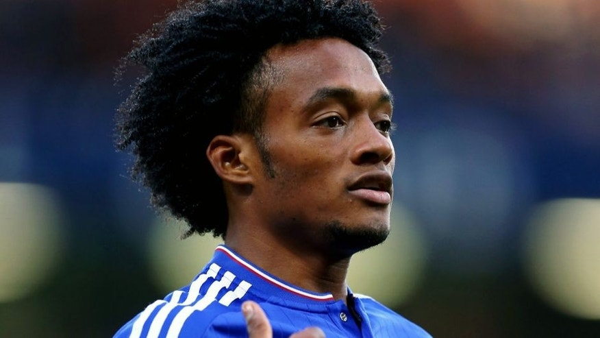 LONDON, ENGLAND - AUGUST 03: Juan Cuadrado of Chelsea during the pre-season friendly between Chelsea and Fiorentina at Stamford Bridge on August 5, 2015 in London, England. (Photo by Catherine Ivill - AMA/Getty Images)