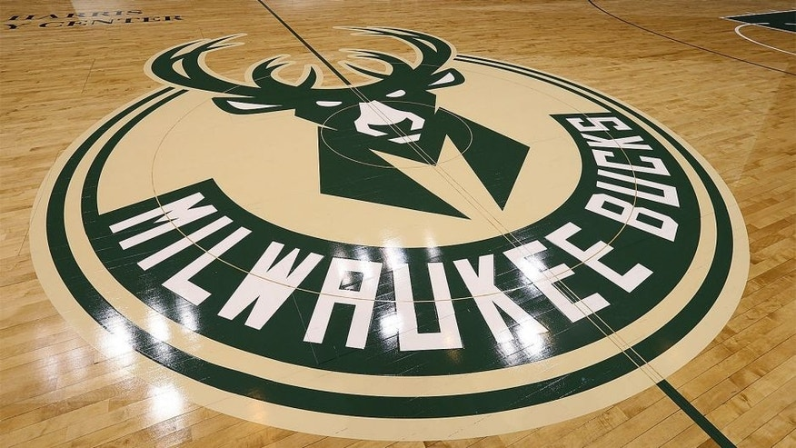MILWAUKEE, WI - JUNE 23: This is a view of the Milwaukee Bucks new court on June 23, 2015 at the BMO Harris Bradley Center in Milwaukee, Wisconson. NOTE TO USER: User expressly acknowledges and agrees that, by downloading and or using this Photograph, user is consenting to the terms and conditions of the Getty Images License Agreement. Mandatory Copyright Notice: Copyright 2015 NBAE (Photo by Gary Dineen/NBAE via Getty Images)