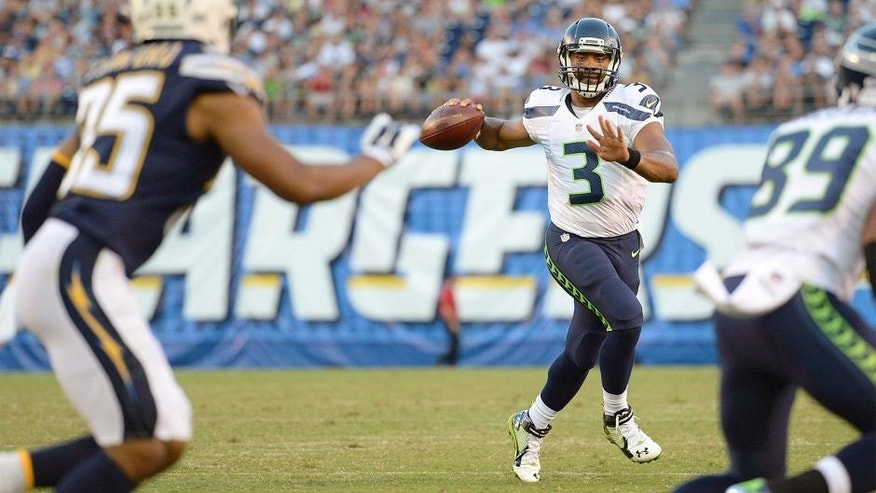Russell Wilson Not Concerned With Preseason Struggles On