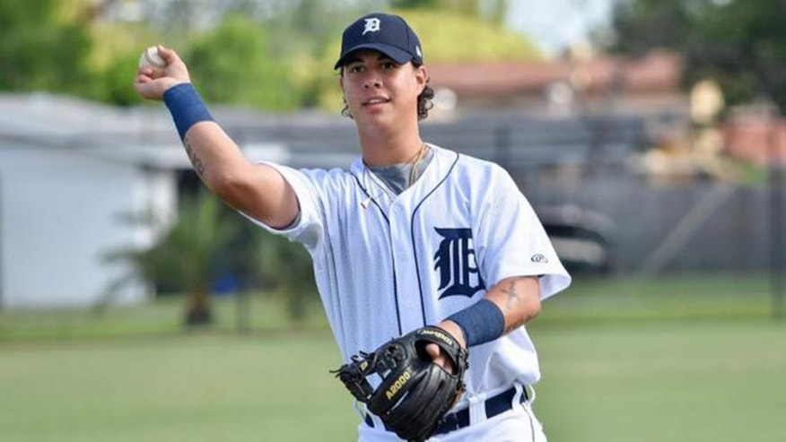 Magglio Ordonez Jr. hit .108 in 19 games with the Gulf Coast League Tigers this summer. (Tom Hagerty/MiLB.com)