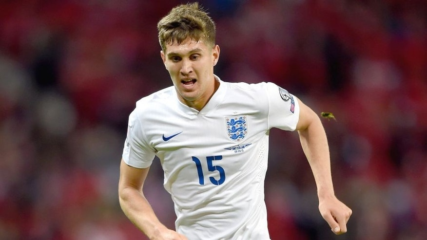 LONDON, ENGLAND - SEPTEMBER 08: John Stones of England on the ball during the UEFA EURO 2016 Group E qualifying match between England and Switzerland at Wembley Stadium on September 8, 2015 in London, United Kingdom. (Photo by Shaun Botterill/Getty Images)