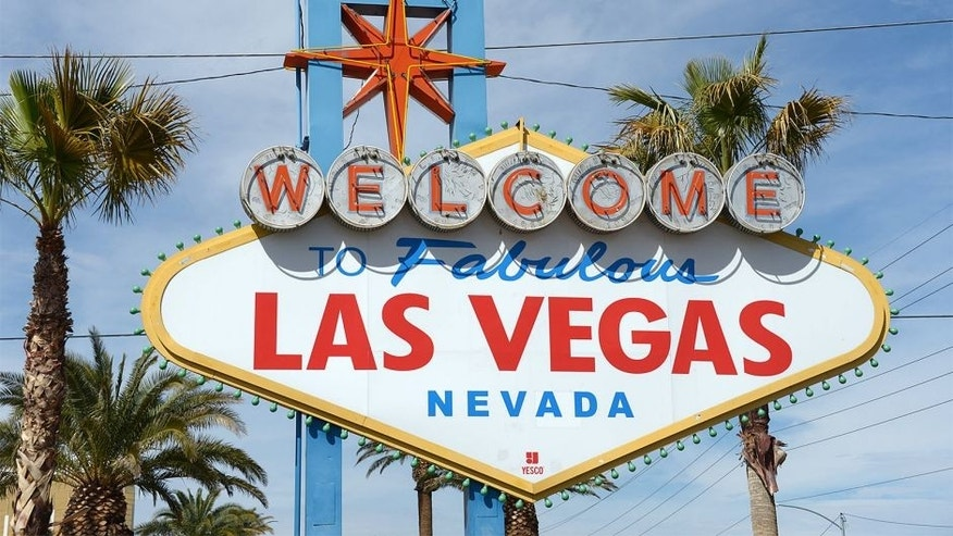 "Mar 15, 2013; Las Vegas, NV, USA; General view of the ""Welcome to Fabulous Las Vegas, Nevada"" sign on Las Vegas Blvd. Mandatory Credit: Kirby Lee-USA TODAY Sports"