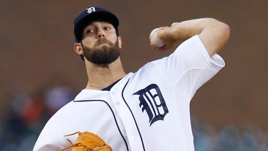 DETROIT, MI - SEPTEMBER 22: Pitcher Daniel Norris #44 of the Detroit Tigers delivers against the Chicago White Sox during the second inning at Comerica Park on September 22, 2015 in Detroit, Michigan. (Photo by Duane Burleson/Getty Images)
