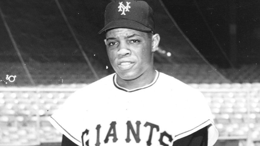 1954: New York Giants Willie Mays in 1954. (Photo by Sporting News/Sporting News via Getty Images)
