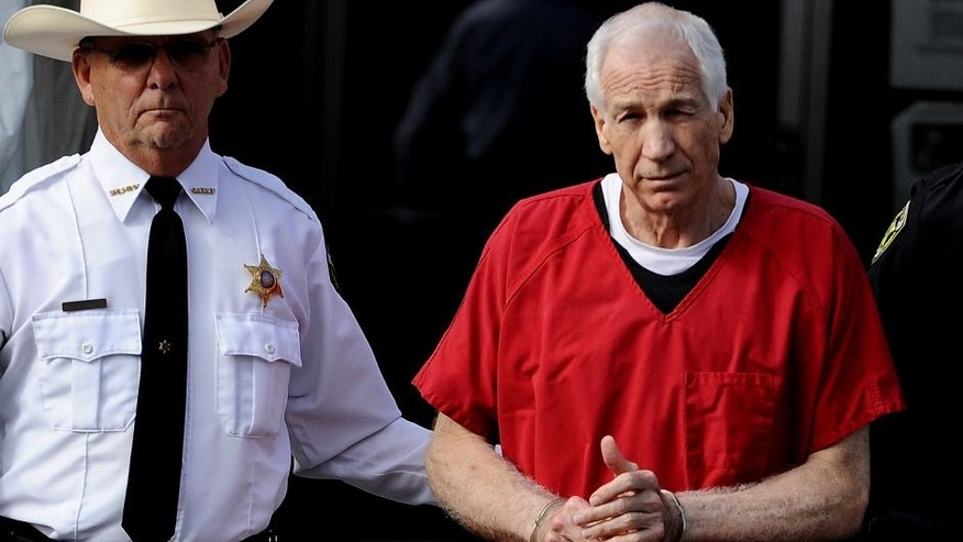 <p>Former Penn State assistant football coach Jerry Sandusky was sentenced to 30-60 years back in October 2012.<br> </p>