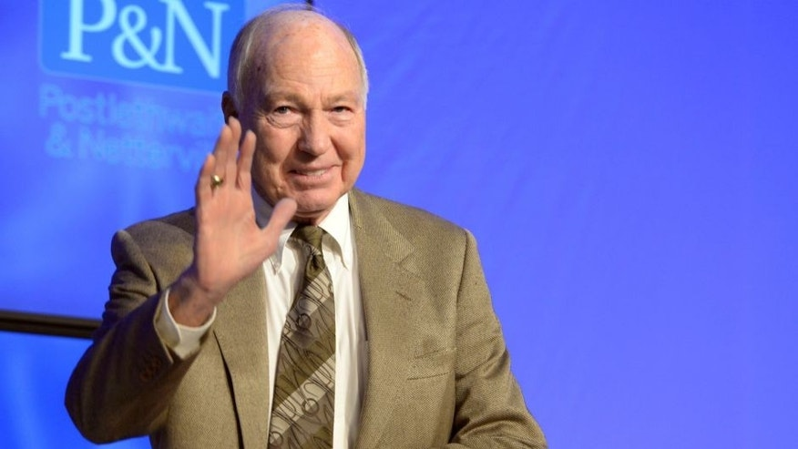 <p>Feb 1, 2013; New Orleans, LA, USA; NFL hall of fame quarterback Bart Starr speaks after awarding Dallas Cowboys tight end Jason Witten with the 2013 Bart Starr award at the Super Bowl Breakfast at the Hyatt Regency before Super Bowl XLVII. Mandatory Credit: John David Mercer-USA TODAY Sports</p>