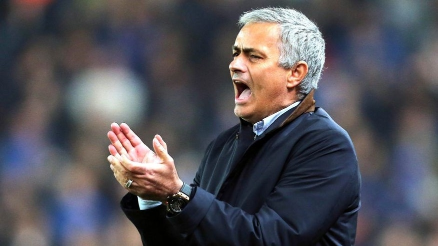 STOKE ON TRENT, ENGLAND - OCTOBER 27: Jose Mourinho Manager / head coach of Chelsea during the Capital One Cup Fourth Round match between Stoke City and Chelsea at Britannia Stadium on October 27, 2015 in Stoke on Trent, England. (Photo by James Baylis - AMA/Getty Images)