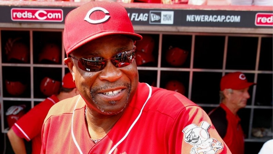 CINCINNATI, OH - SEPTEMBER 07: Dusty Baker #12 of the Cincinnati Reds seen before the game against the Los Angeles Dodgers at Great American Ball Park on September 7, 2013 in Cincinnati, Ohio. (Photo by Michael Hickey/Getty Images)