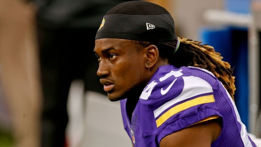<p>Sep 21, 2014; New Orleans, LA, USA; Minnesota Vikings wide receiver Cordarrelle Patterson (84) before a game against the New Orleans Saints at Mercedes-Benz Superdome. Mandatory Credit: Derick E. Hingle-USA TODAY Sports</p>