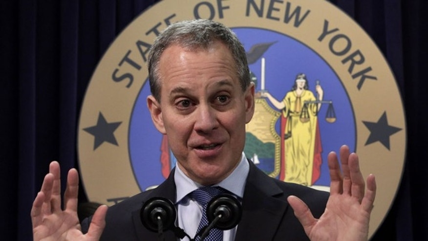 New York State Attorney General Eric Schneiderman is shown. (Associated Press)